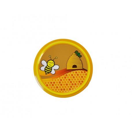 Capsule to 82 mm decor abeille rieuse et ruche