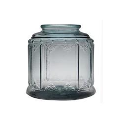 Bonbonne bohemian 6.5  litres bouchon liege haut 23 cm diam. 24 cm