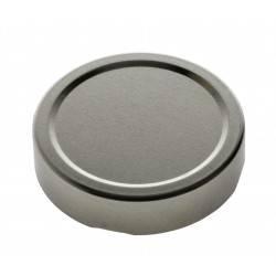 10 Capsules TO 66 mm argent sterilisable **DEEP**