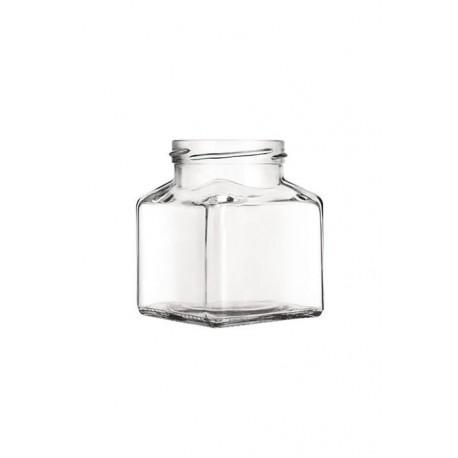 12 Bocaux Quadro Liscio 212 ml TO 58 avec capsule comprise