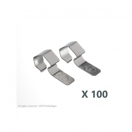 100 Clips or clamps WECK®
