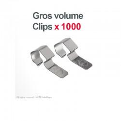 1000 Clips/crochets inox pour fermeture des bocaux WECK®