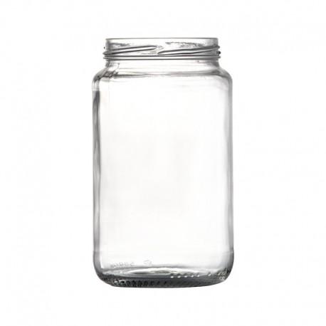 Lot de 12 Bocaux CEE STANDARD 580 ml, avec capsules comprises