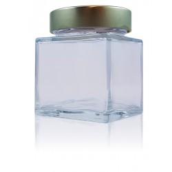 12 Vierkante flessen SHENTE 314 ml met dop Deep Ø 76 mm niet ingesloten