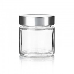 11 tarros en vidrio Vaso ZEN 212 ml con cápsula DEEP Ø 76 mm. no incluidas.