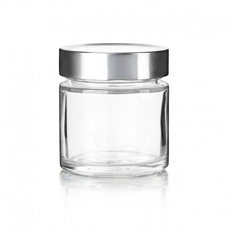 11 bocaux Vaso ZEN, 212 ml avec capsule métallique TO Deep 76 mm