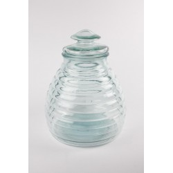 Bombonera Colmena 11 litros en vidrio 100% reciclado
