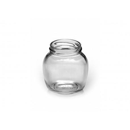 30 Bocaux  modèle OVAL 106 ml capsules comprises TO 48 mm