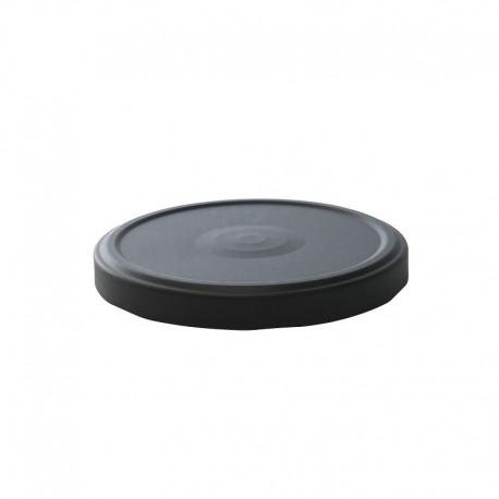 100 Capsules TO 100 mm noires Stérilisables