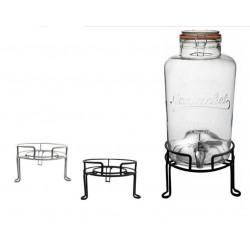 Socle / rehausseur métal chromé pour bonbonne 6 litres