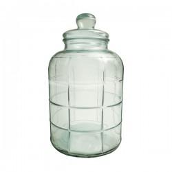 Bonbonniere graphic 45 cm avec couvercle en verre