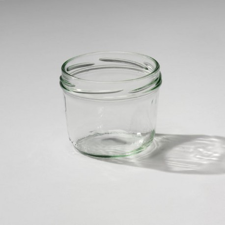 18 Bocaux en verre Weck, modèle Terrine, capacité 230 ml
