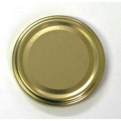 Capsules à visser pour bocaux diamètre 66mm couleur or