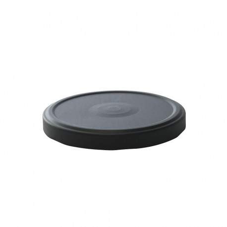100 Capsules TO 100 mm noires pasteurisable