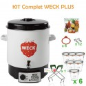 Kit WECK PLUS avec stérilisateur WECK 29 litres complet pour réaliser vos conserves