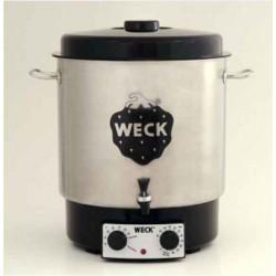 Stérilisateur et pasteurisateur ménager/domestique Weck® inox WAT 25A