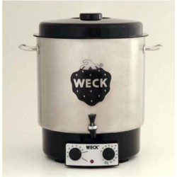 sterilizzatore domestico elettrico inossidabile WECK®, modello WAT 25 A