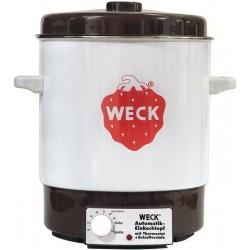 Elektrische sterilisator sparen geëmailleerd van merk WECK® model WAT 14, kleur ruw