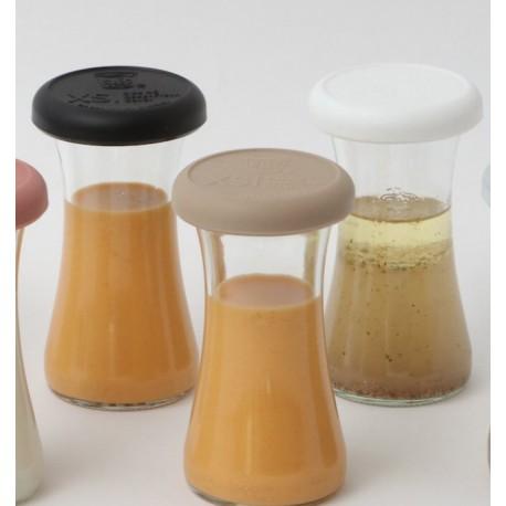 With Weck® Capsule en Silicone Noire XS pour bocaux WECK® diamètre 40 mmCatalogue  Produits