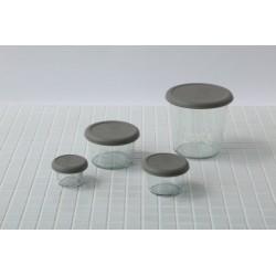 With Weck® Capsule en Silicone Gris/Olive XS pour bocaux WECK® diamètre 40 mm