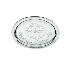 6 Tapas en vidrio Weck diámetro 120 mm