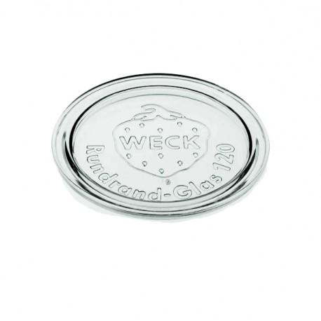 6 COUVERCLES EN VERRE WECK® DIAM. 120 mm