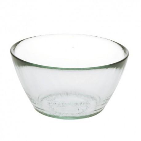Set de 2 bols en verre recyclé