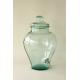 Bonbonne Jarre en verre 100% recyclé 12 litres avec robinet