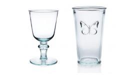 Vidrios e vasos