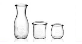 WECK® Gläser ohne Deckel, ohne gummy