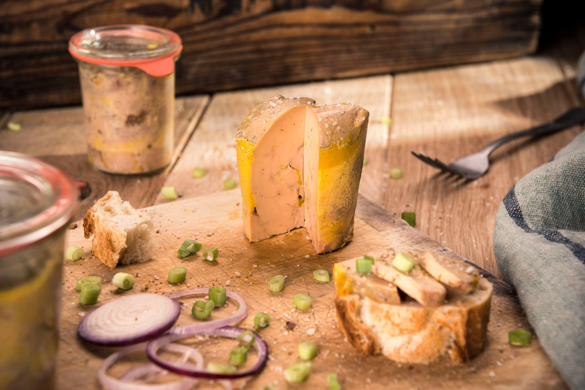 foie gras en bocal weck