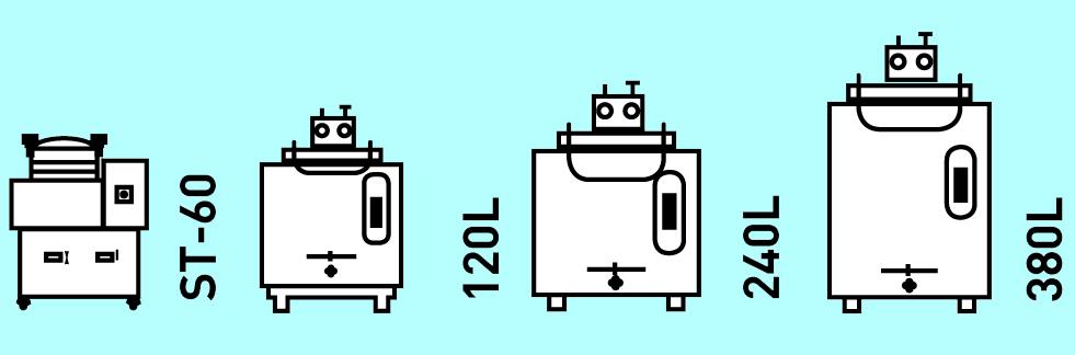 gamme autoclaves korimat et st-60