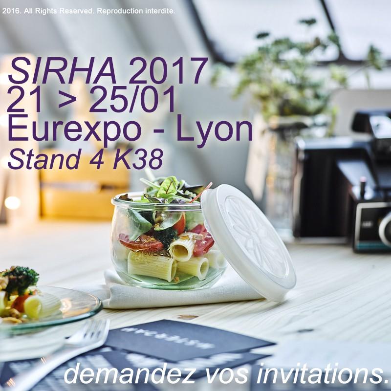 sirha 2017 Lyon eurexpo 21-25/01/2017 Stand 4K38